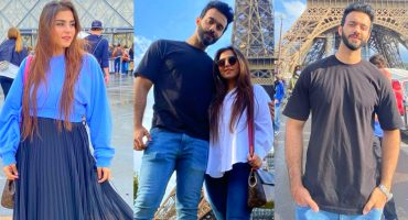 Komal Baig Spending Some Quality Time With Husband In France