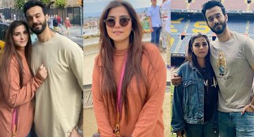 Komal Baig Vacationing In Spain With Her Husband