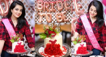 Kompal Iqbal Shared Throwback Pictures From Her Bridal Shower