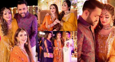HD Pictures From Kompal Iqbal's Mehndi Event