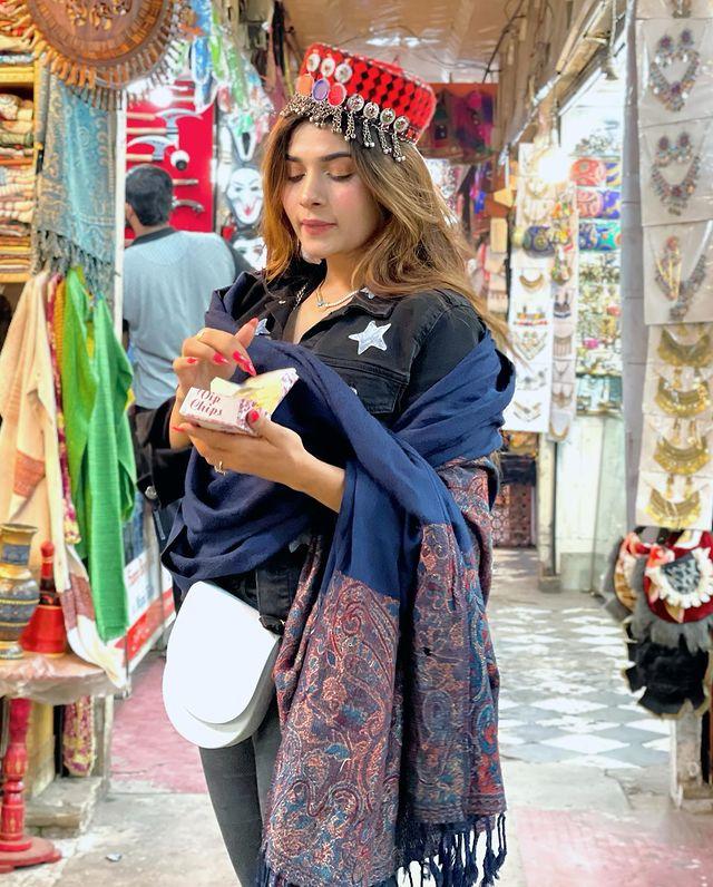 Mahi Baloch Vacationing In Murree And Nathia Gali