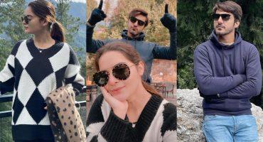 Minal And Ahsan New Clicks From Nathia Gali