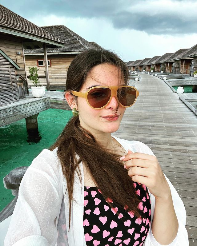Glimpses From Minal Khan And Ahsan Mohsin's Honeymoon In Maldives