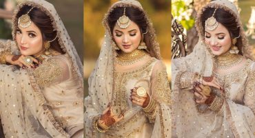 Rabeeca Khan Looks Stellar In Ivory Bridal Ensemble