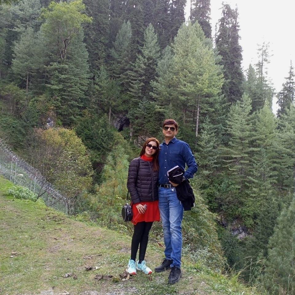 Sadia Faisal Spending Quality Time With Family In Nathia Gali