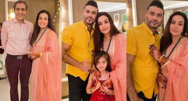Sadia Imam Celebrating Eid-e-Zahra With Family