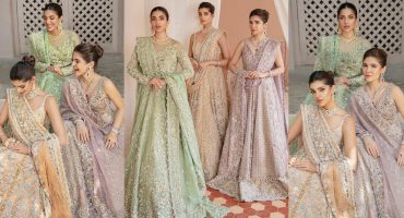 Saira Shakira's Bridal Couture Campaign 2021