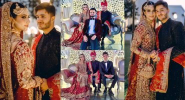 Shahveer Jafry And Ayesha Beig Tied The Knot
