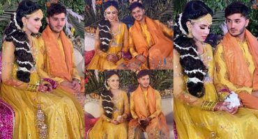 Shahveer Jafry And Ayesha Beig's Mehndi Event-Exclusive Pictures
