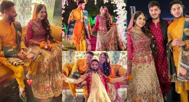 YouTuber Sunny Jafry's Mehndi Event -Exclusive Pictures