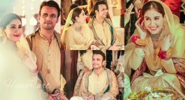 Usman Mukhtar And Zunaira Inam's Mayun Event- HD Pictures And Video