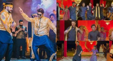Celebrities Rock The Dance floor At Usman Mukhtar's Mehndi