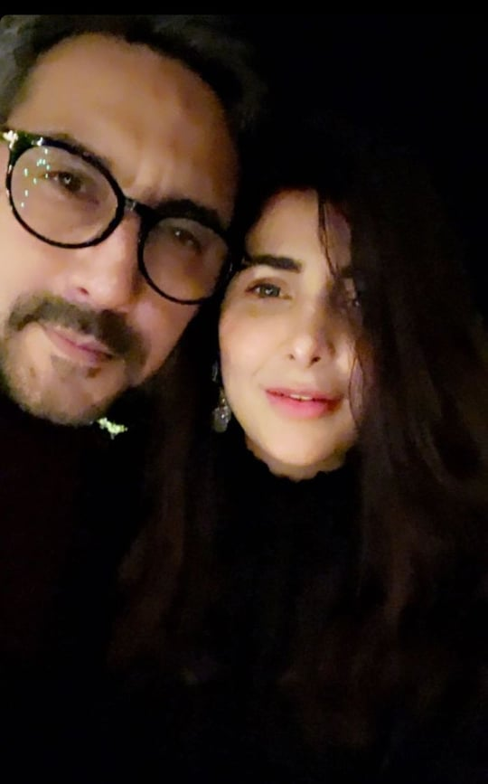 Celebrities Spotted At Wajahat Rauf's Birthday Bash