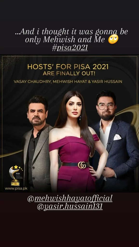 Yasir Hussain and Vasay Chaudhry Are Unhappy With Working Together